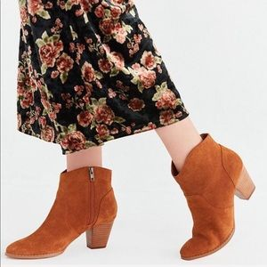 Urban Outfitters | Suede Ankle Booties